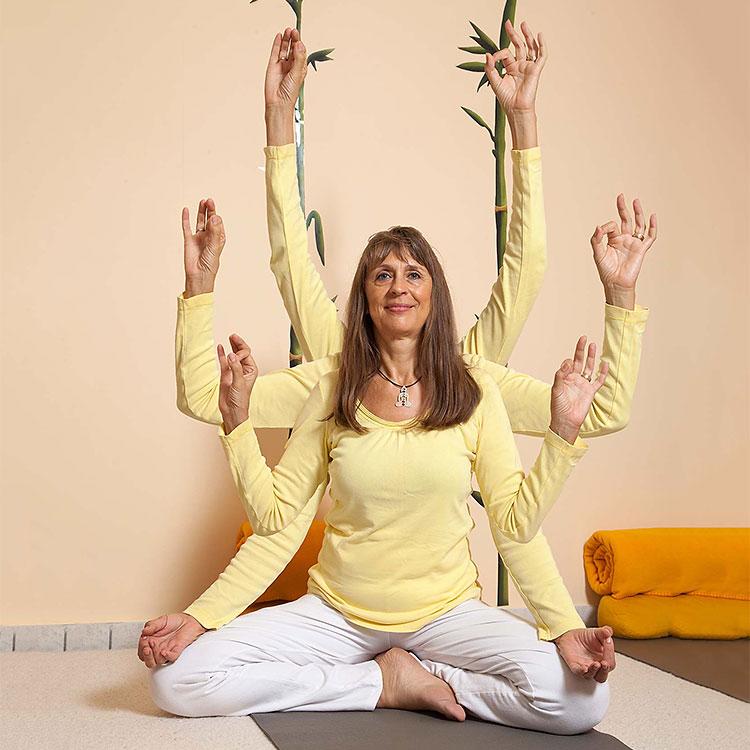 Eva Sell - Yogalehrerin - Yoga-Haus Babenhausen